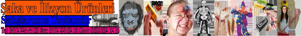 Şaka Oyunları İlizyon ve sihirbazlık Malzemeleri